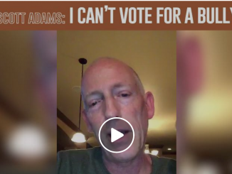 Scott Adams - I can't vote for a bully